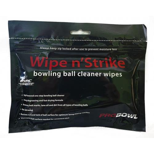 PROBOWL WET BALL WIPES (24 WIPES)