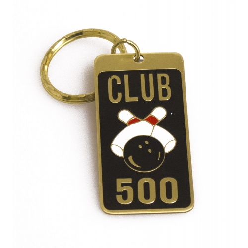 Club 500 Keychain