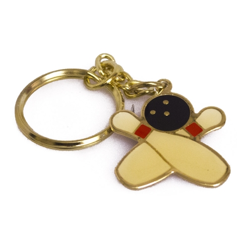 Two Pins KeyChain